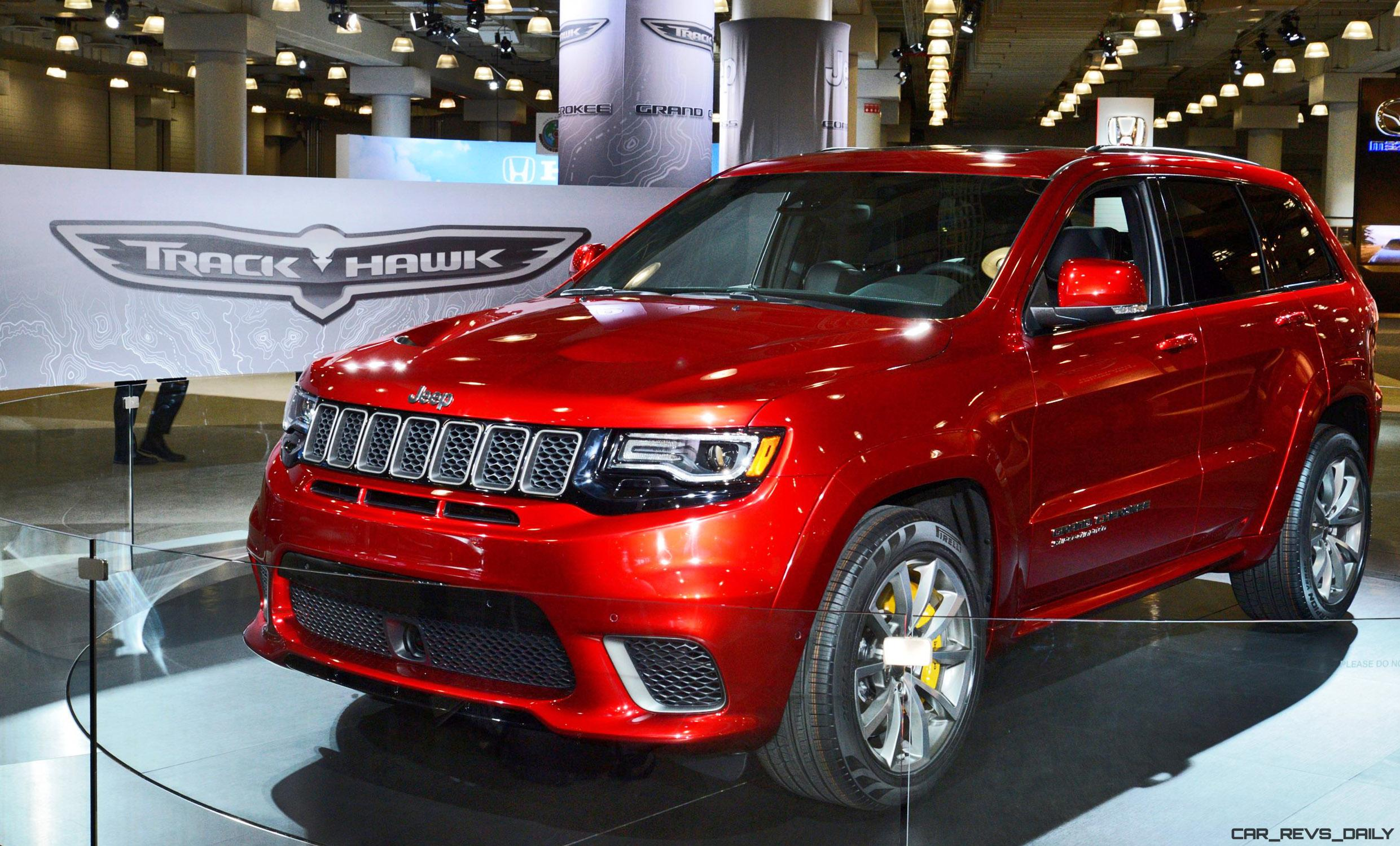 180mph 2018 jeep grand cherokee srt trackhawk 25 photo debut w video car shopping. Black Bedroom Furniture Sets. Home Design Ideas