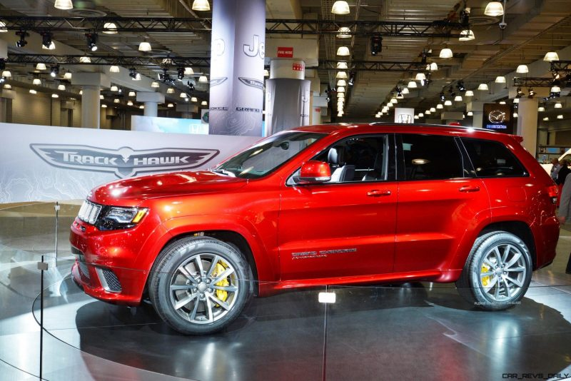 2018 Jeep SRT TrackHawk 18