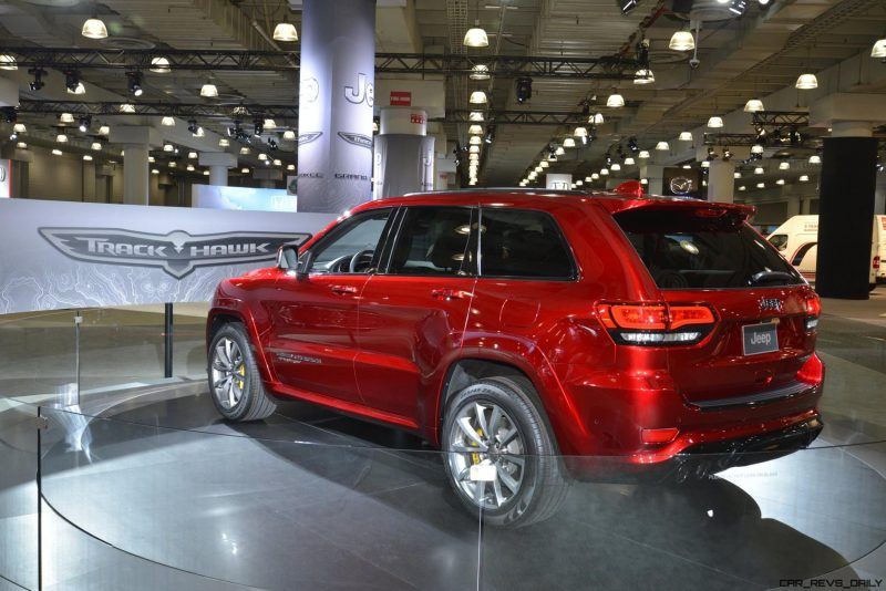 2018 Jeep SRT TrackHawk 23
