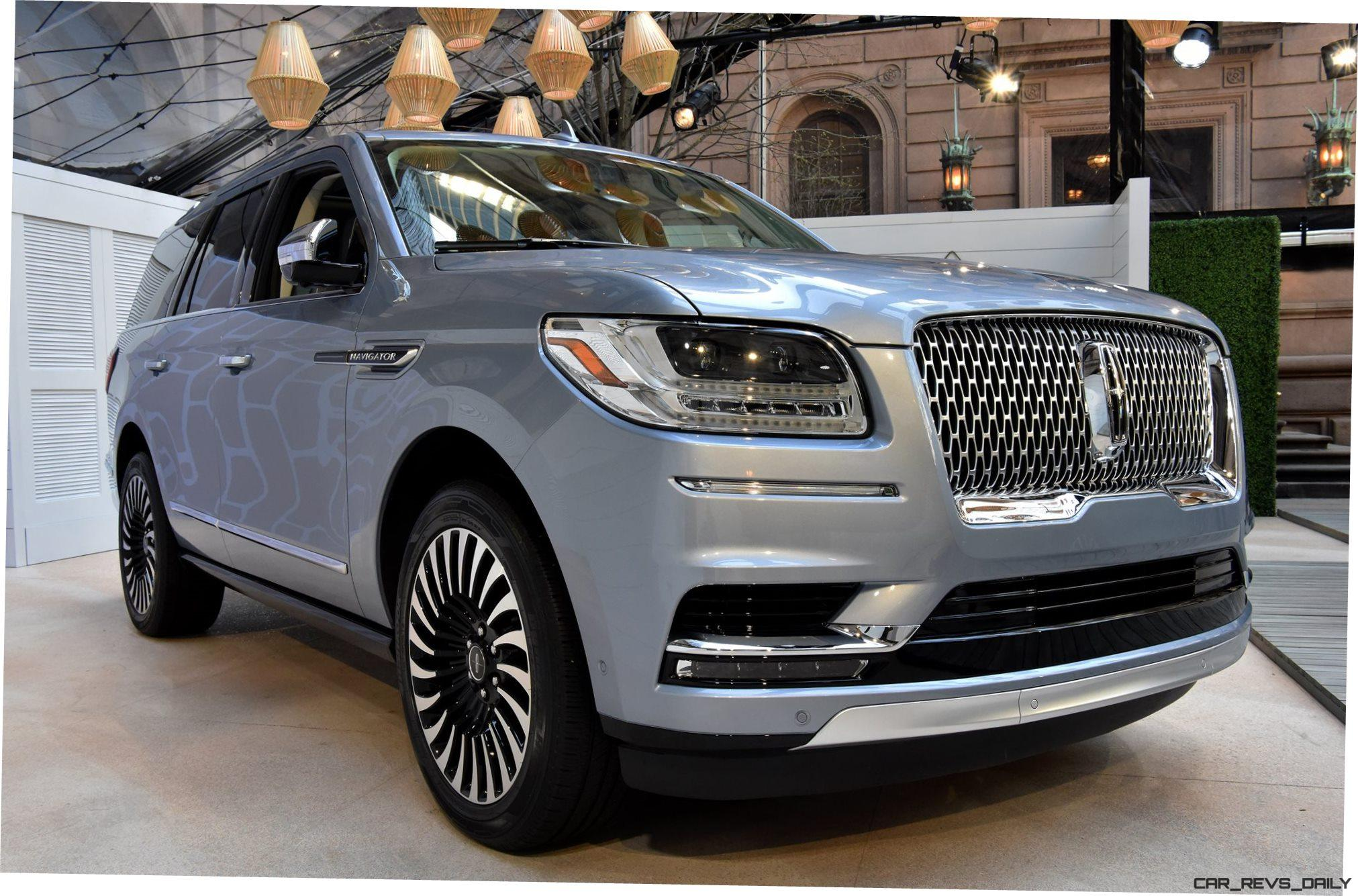 best of nyias 2018 lincoln navigator 450hp 10 speed. Black Bedroom Furniture Sets. Home Design Ideas