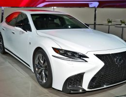 2018 Lexus LS500 F Sport – Air-Ride, Active 4WS + Live NYIAS Photos