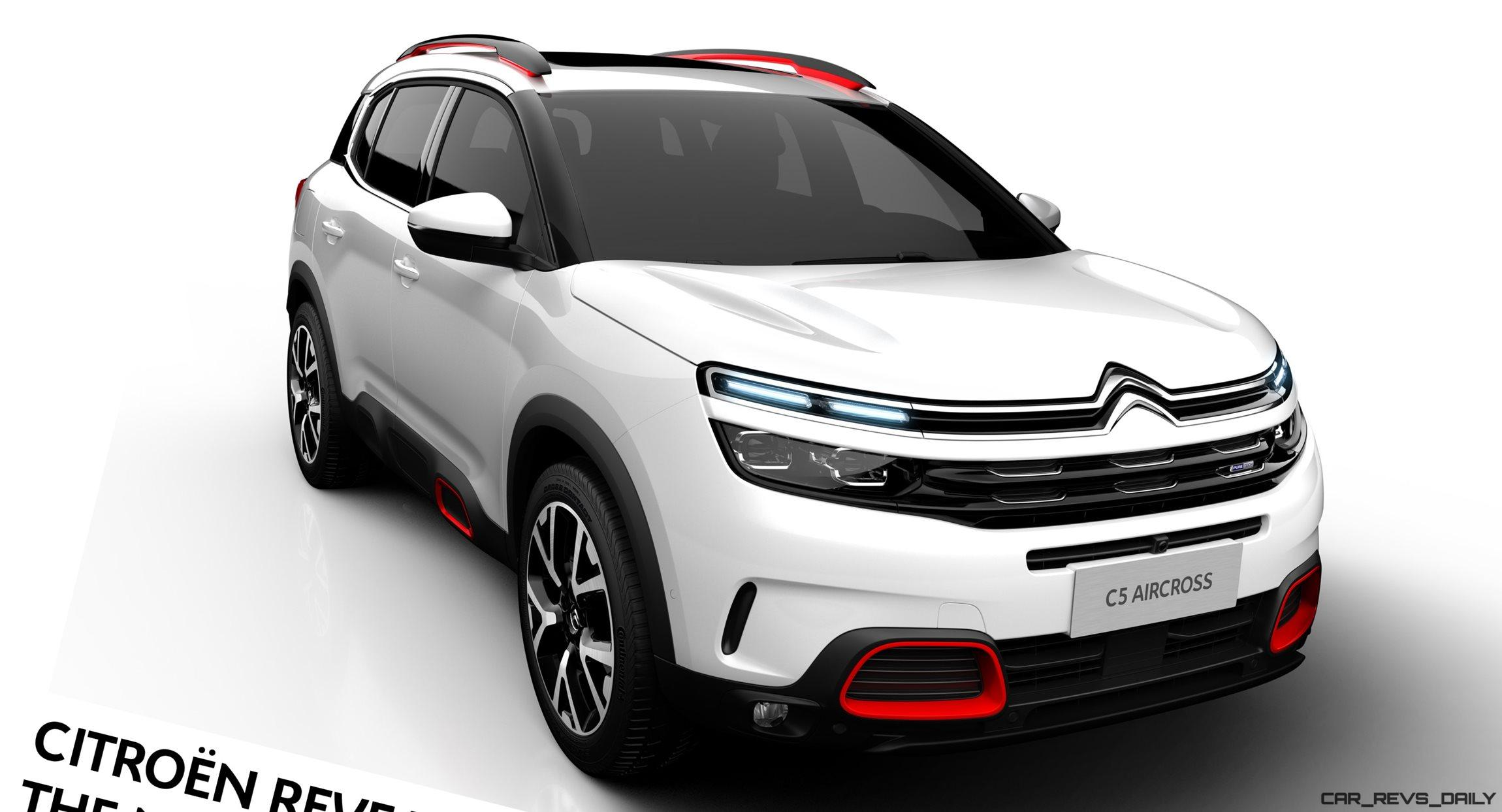 2018 citroen c5 aircross on sale late summer. Black Bedroom Furniture Sets. Home Design Ideas