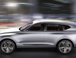 2017 Genesis GV80 SUV Concept Makes Surprise NY Debut