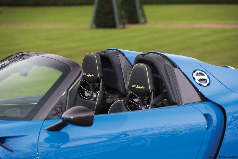 Arrow Blue Porsche 918 Spyder 11