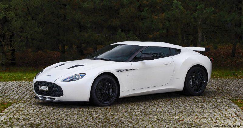 Aston Martin V12 Zagato White No Zero 1