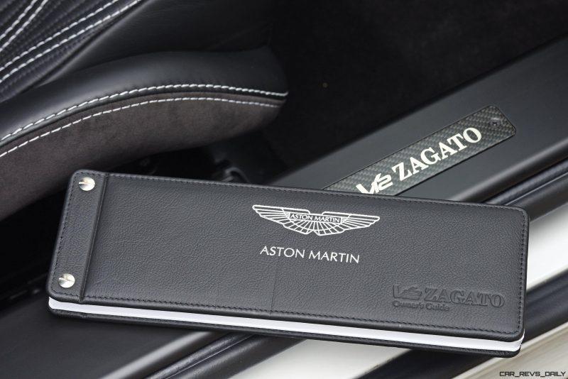 Aston Martin V12 Zagato White No Zero 24
