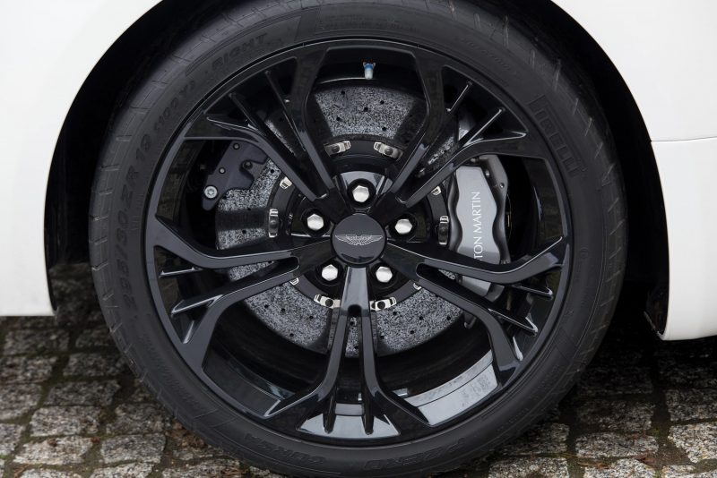 Aston Martin V12 Zagato White No Zero 25