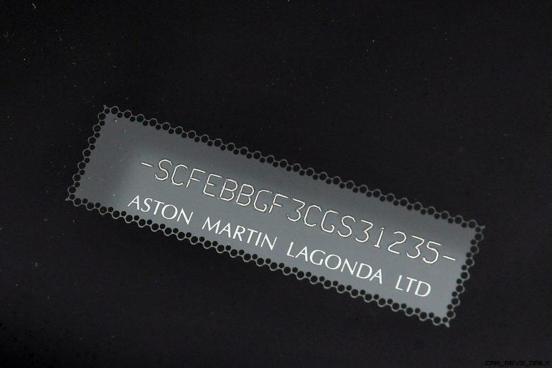 Aston Martin V12 Zagato White No Zero 27