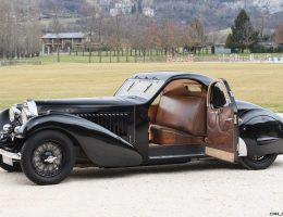 Hall of Fame – 1935 Bugatti Type 57 ATALANTE Prototype by Carrosserie Bugatti