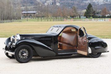Hall of Fame – 1935 Bugatti Type 57 ATALANTE Prototype by Carrosserie Bugatti