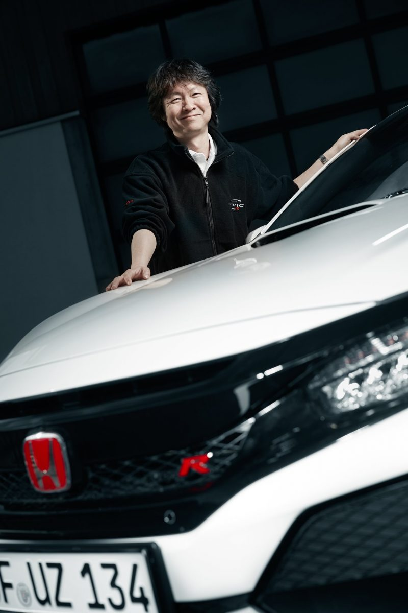 2017 Civic Type R Assistant Project Leader Hideki Kakinuma