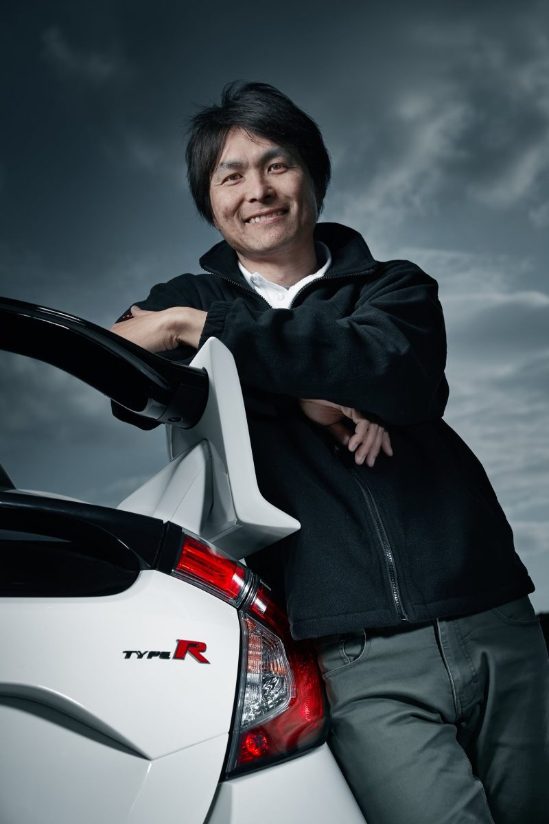 2017 Civic Type R Lead Chassis Engineer Ryuichi Kijima