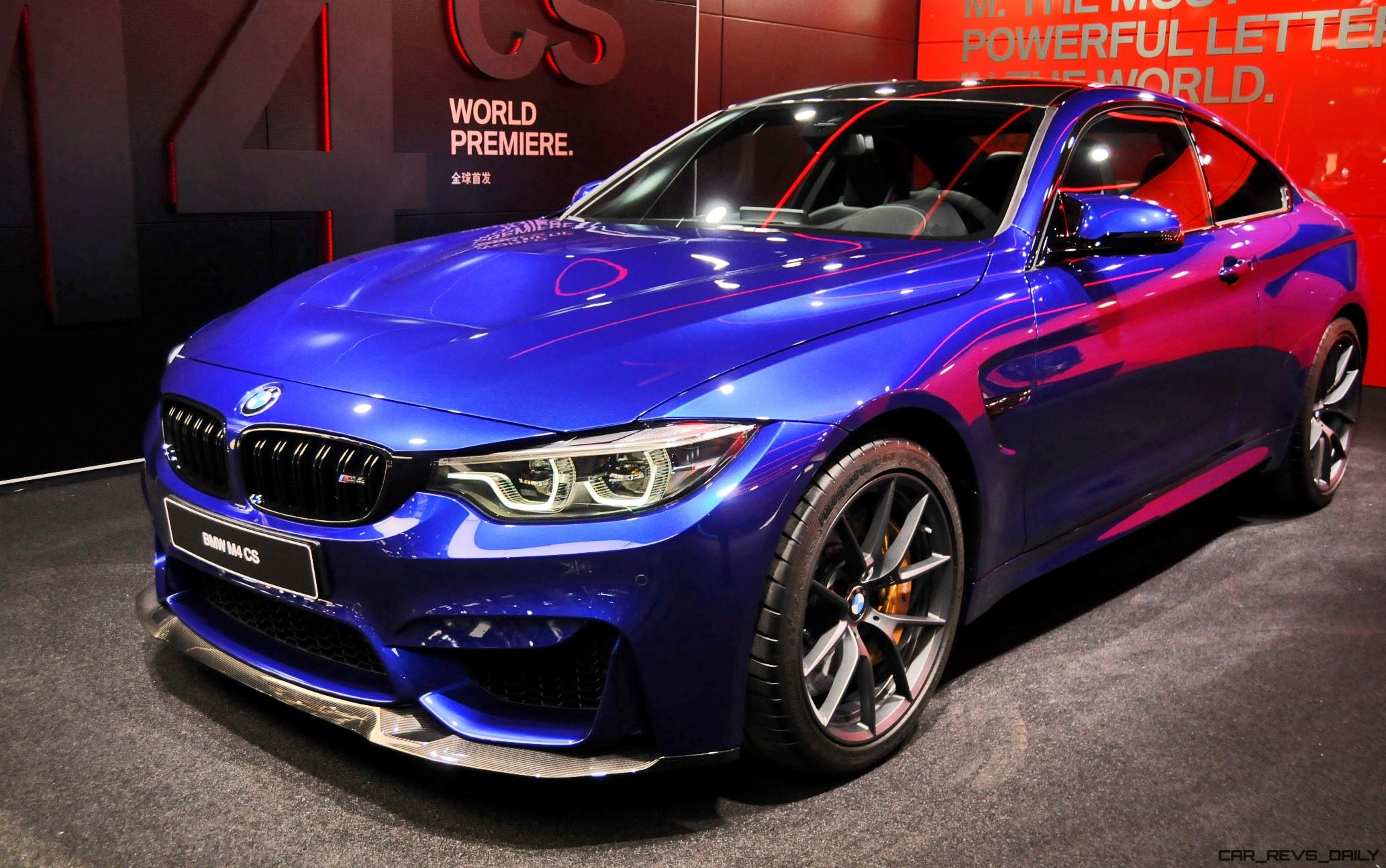 2017 bmw m4 cs special edition bows in shanghai. Black Bedroom Furniture Sets. Home Design Ideas