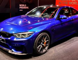 2017 BMW M4 CS Special Edition Bows in Shanghai