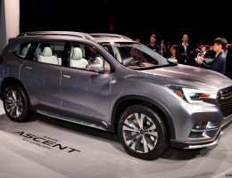 2017 Subaru ASCENT Concept is Jumbo, 7-Seater Outback Headed to Showrooms Next Year