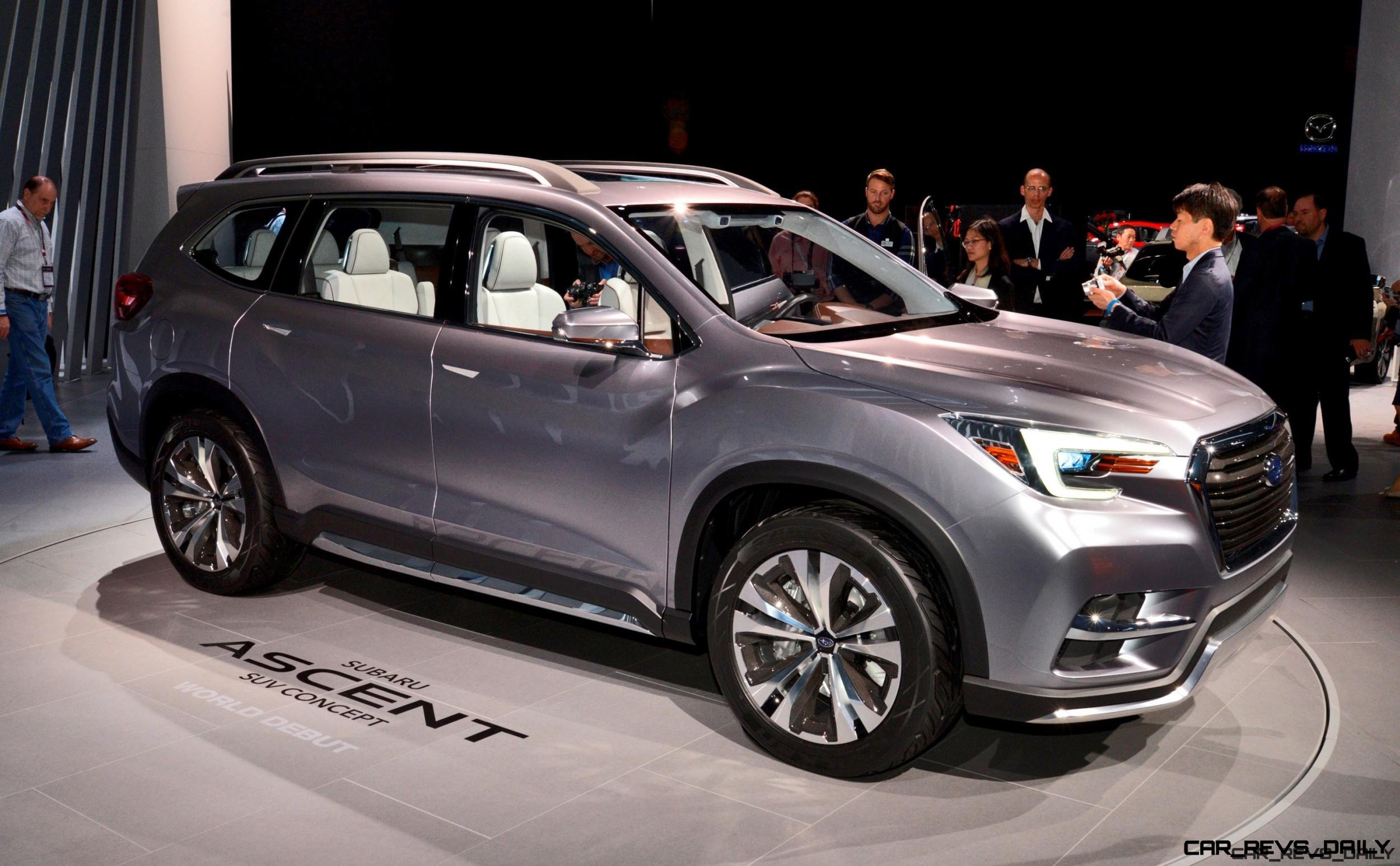 7 Seater Suv 2017 >> 2017 Subaru Ascent Concept Is Jumbo 7 Seater Outback Headed To