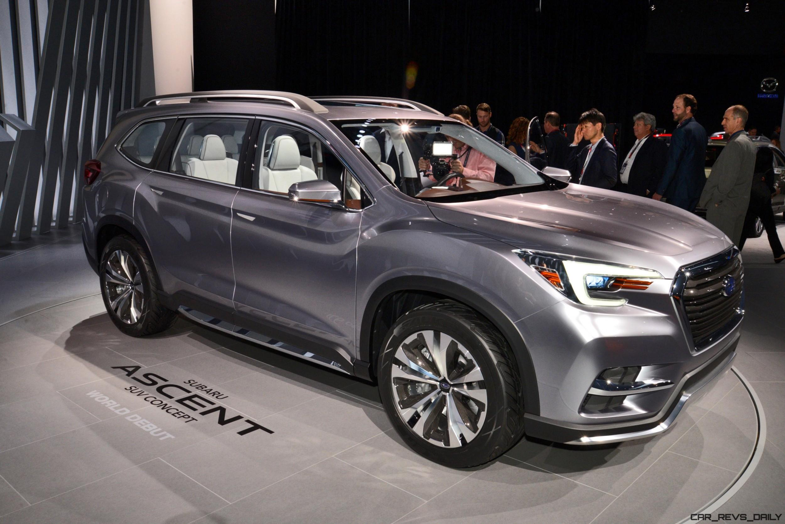 2017 Subaru ASCENT Concept Is Jumbo, 7 Seater ...