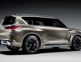 Animated Debut – 2017 Infiniti QX80 Monograph Concept