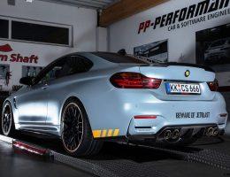 BMW M4 By Cam-Shaft.de Goes Custom in Battleship Grey/Orange