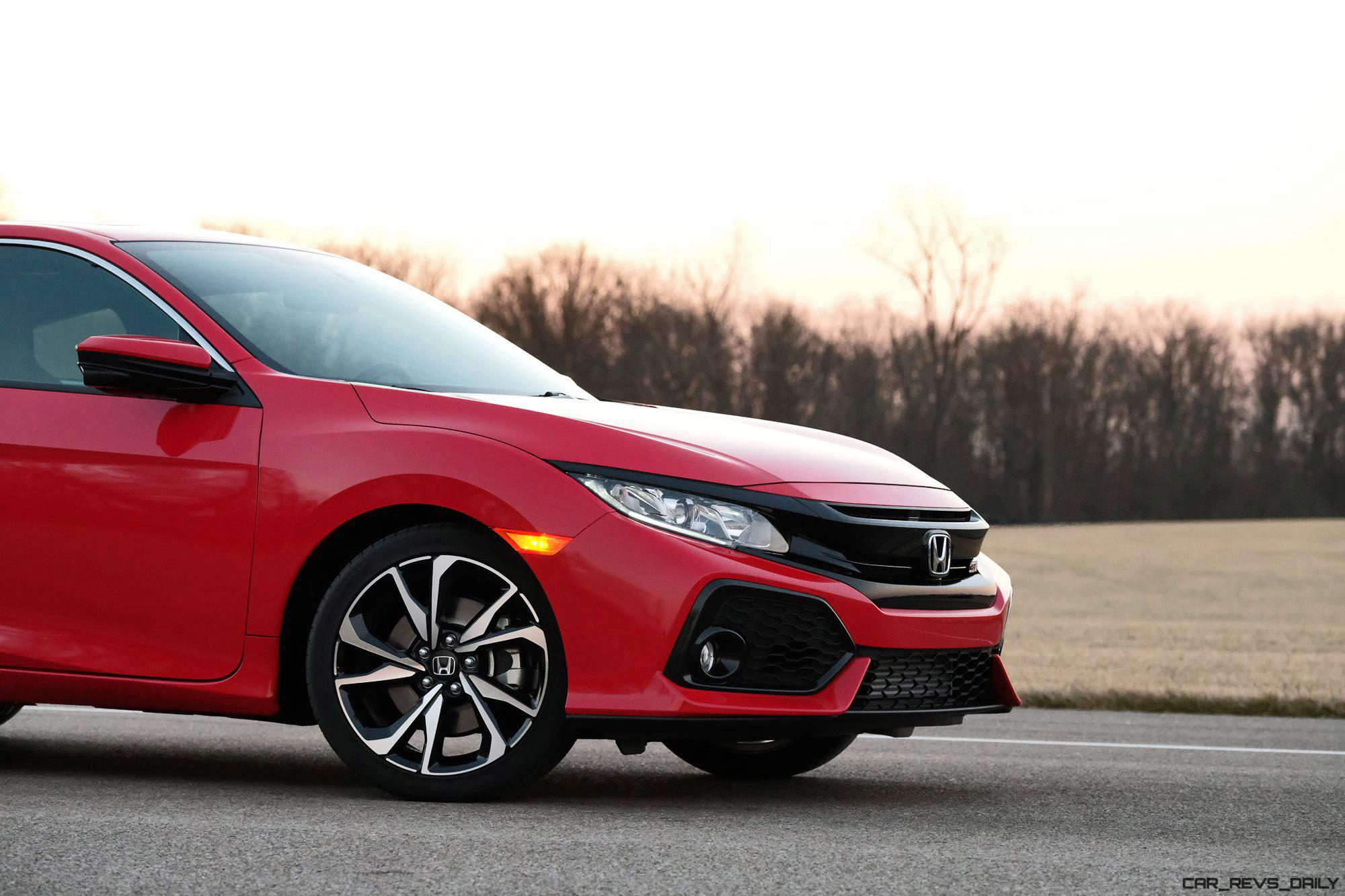 2017 honda civic si coupe and sedan rock 205hp turbos in for 2017 honda civic si turbo