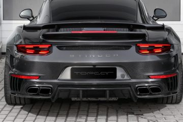 TOPCAR 911 Turbo STINGER Gen2 Carbon Edition Shows Joy of Customs