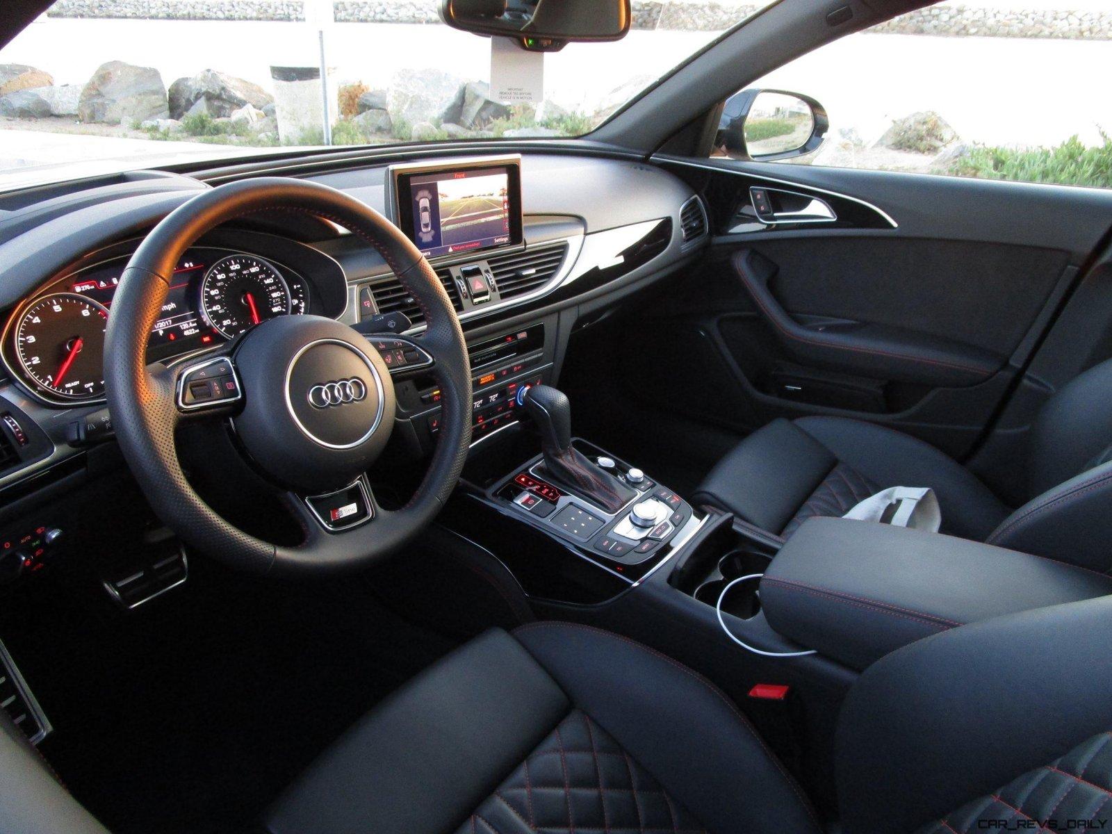 2017 Audi A6 Sedan 3 0t Interior 1