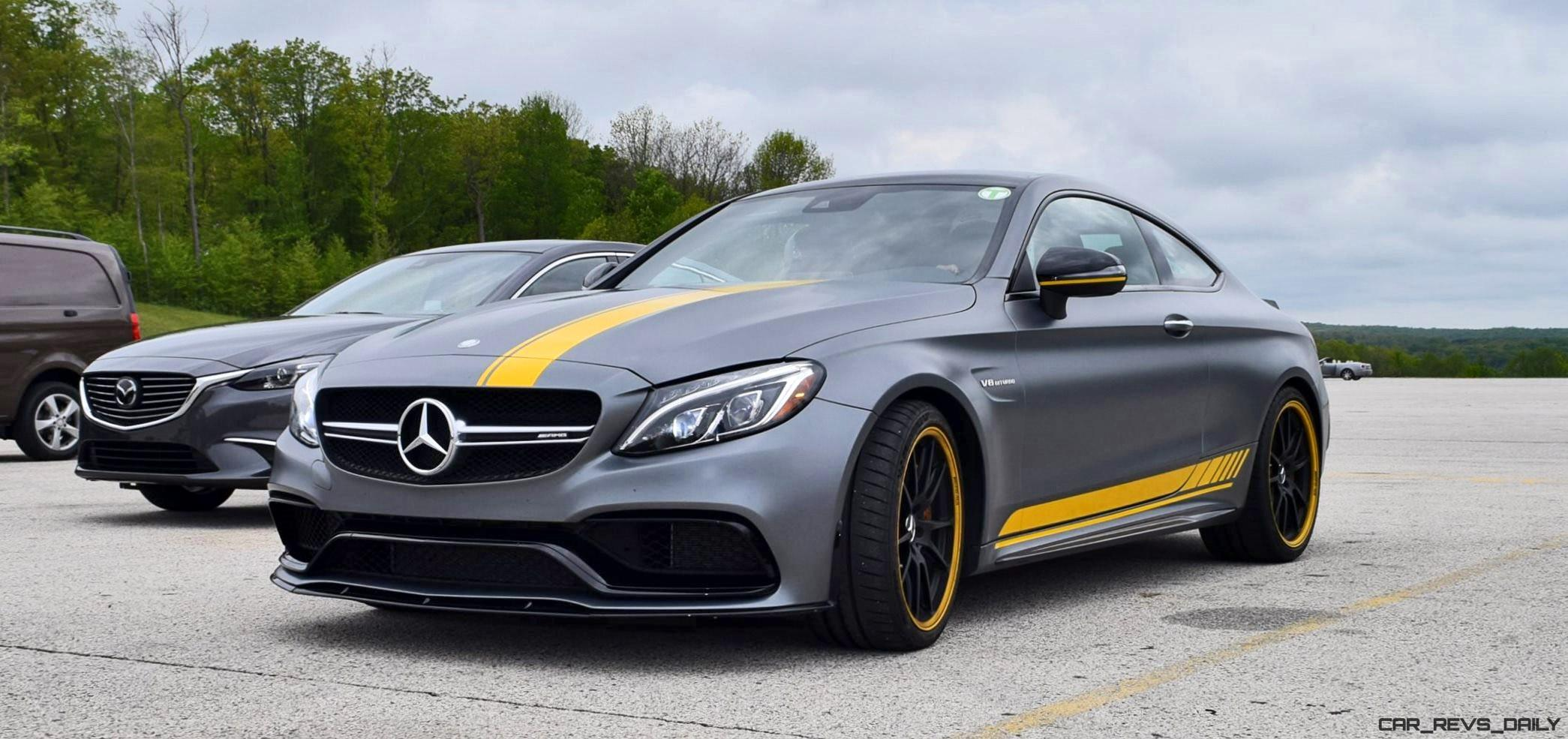 2017 mercedes amg c63 s coupe edition one usa photoset