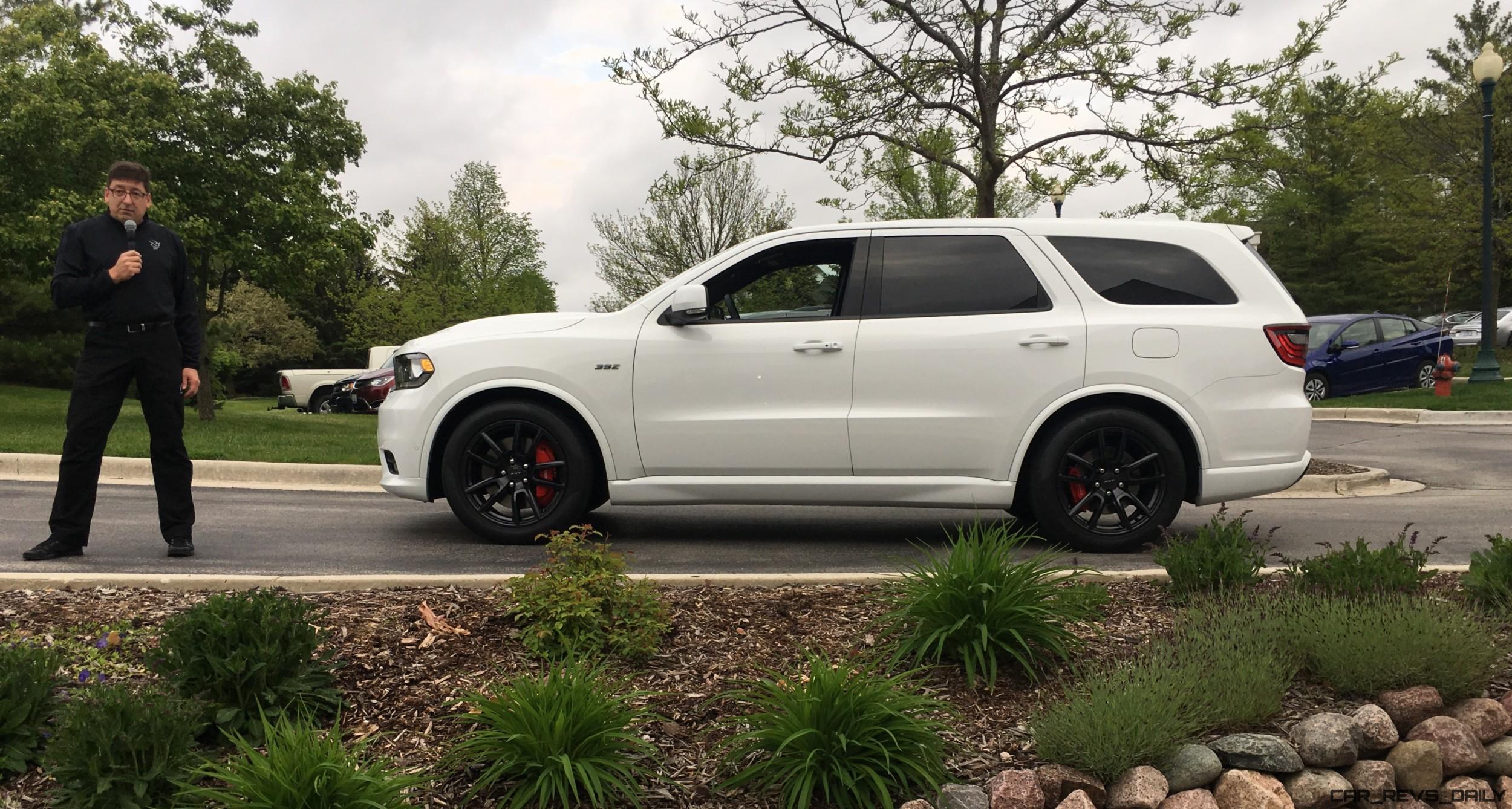 Dodge Demon Colors >> 2018 Dodge Durango SRT 2