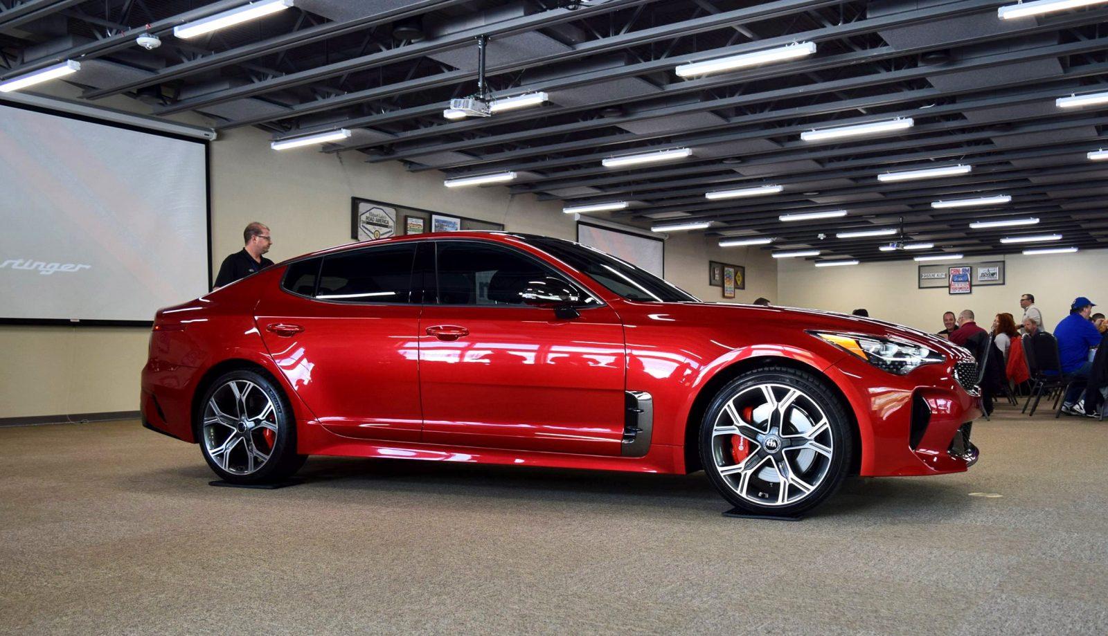 2018 KIA Stinger GT AWD 48s 167MPH Stats Confirmed