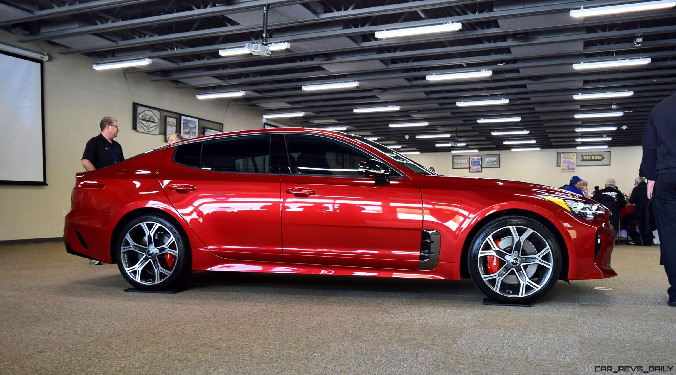 2018 Kia Stinger Gt Awd 4 8s 167mph Stats Confirmed 31 Photos