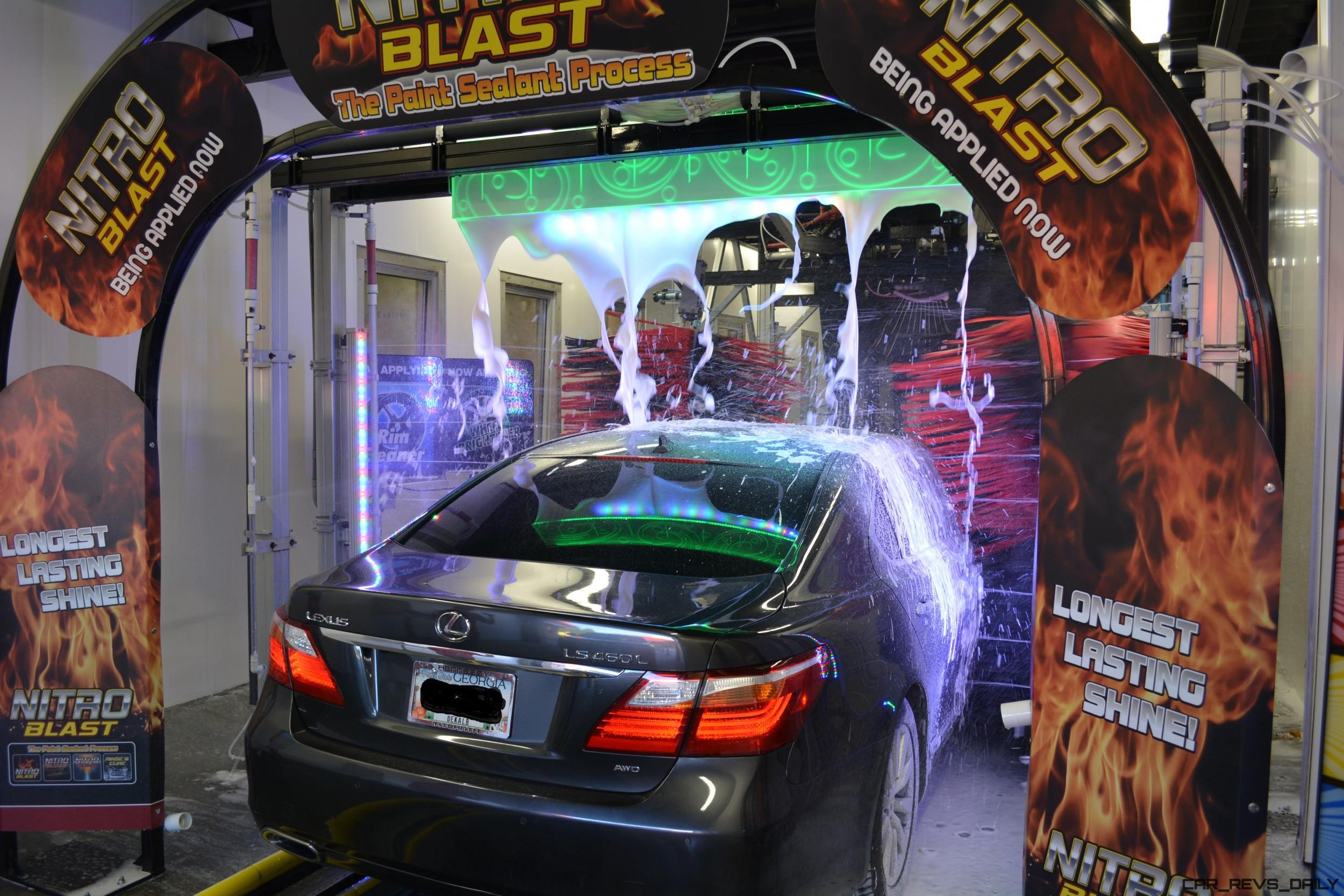 Contact or contactless car wash harms paintwork cars more 84