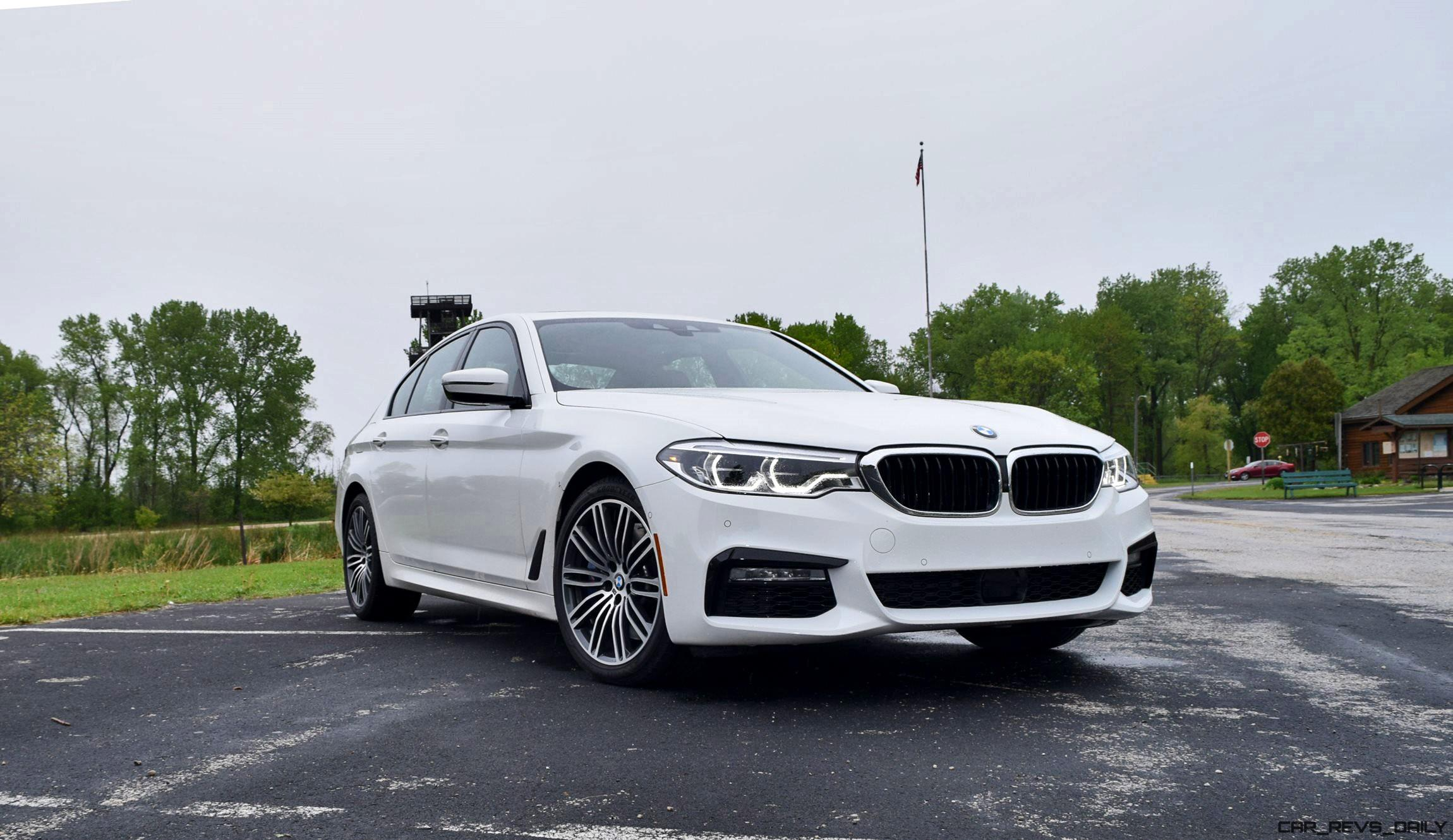 Elegant 2017 BMW 540i M Sport  First Drive Review  50Photo