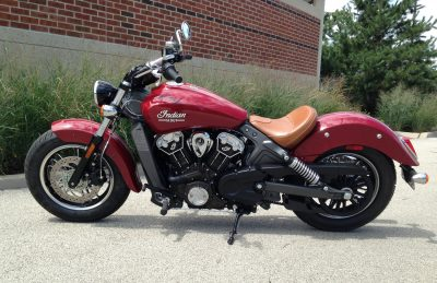 "2017 Indian Scout - Ride Test Review - By Ken ""Hawkeye"" Glassman 8"