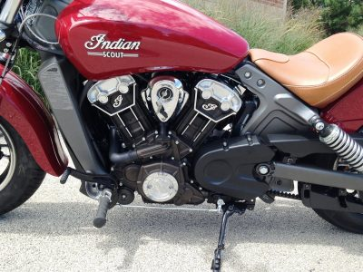 "2017 Indian Scout - Ride Test Review - By Ken ""Hawkeye"" Glassman 9"