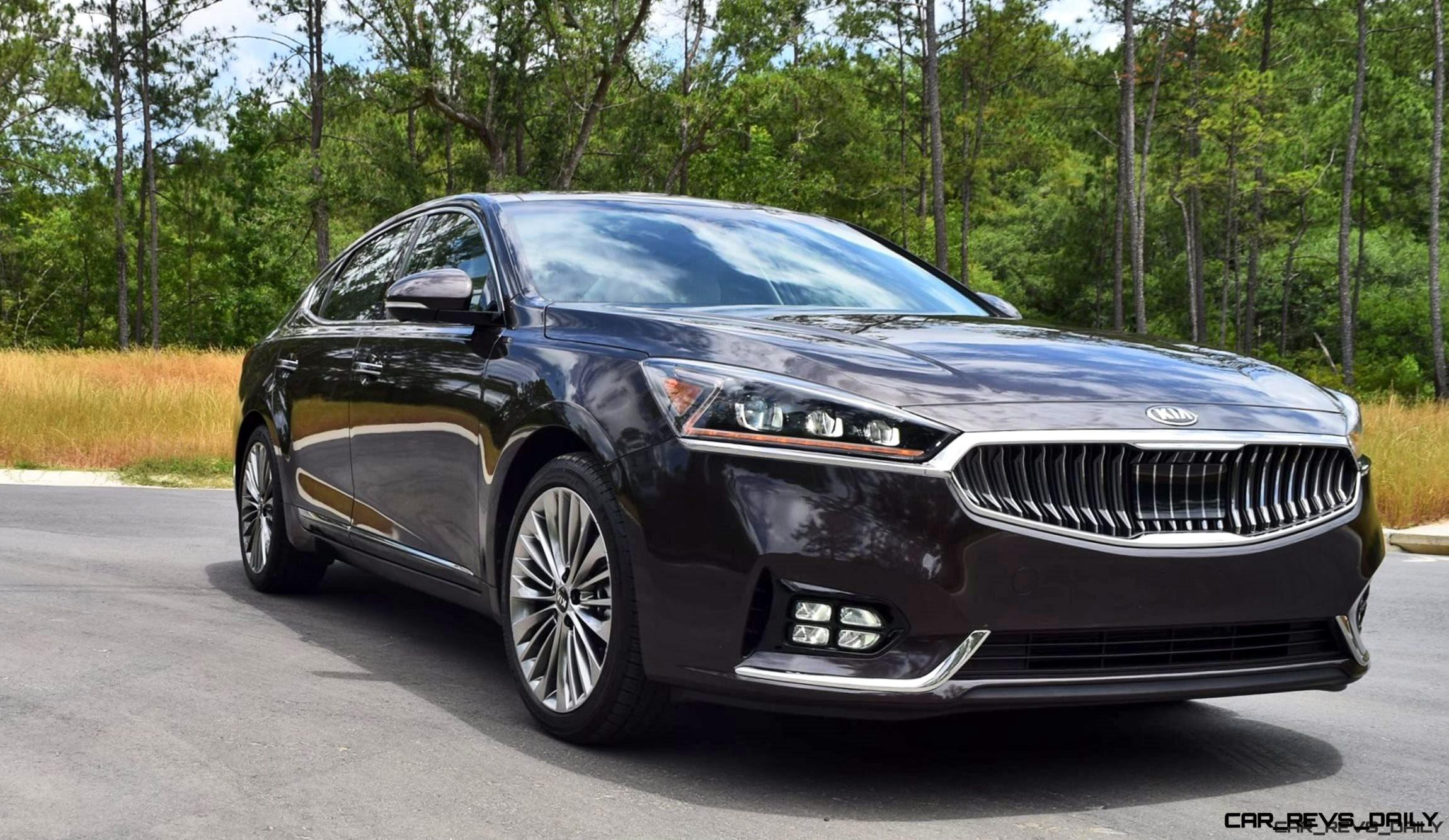 2017 KIA Cadenza Limited - Road Test Review + 2 Videos