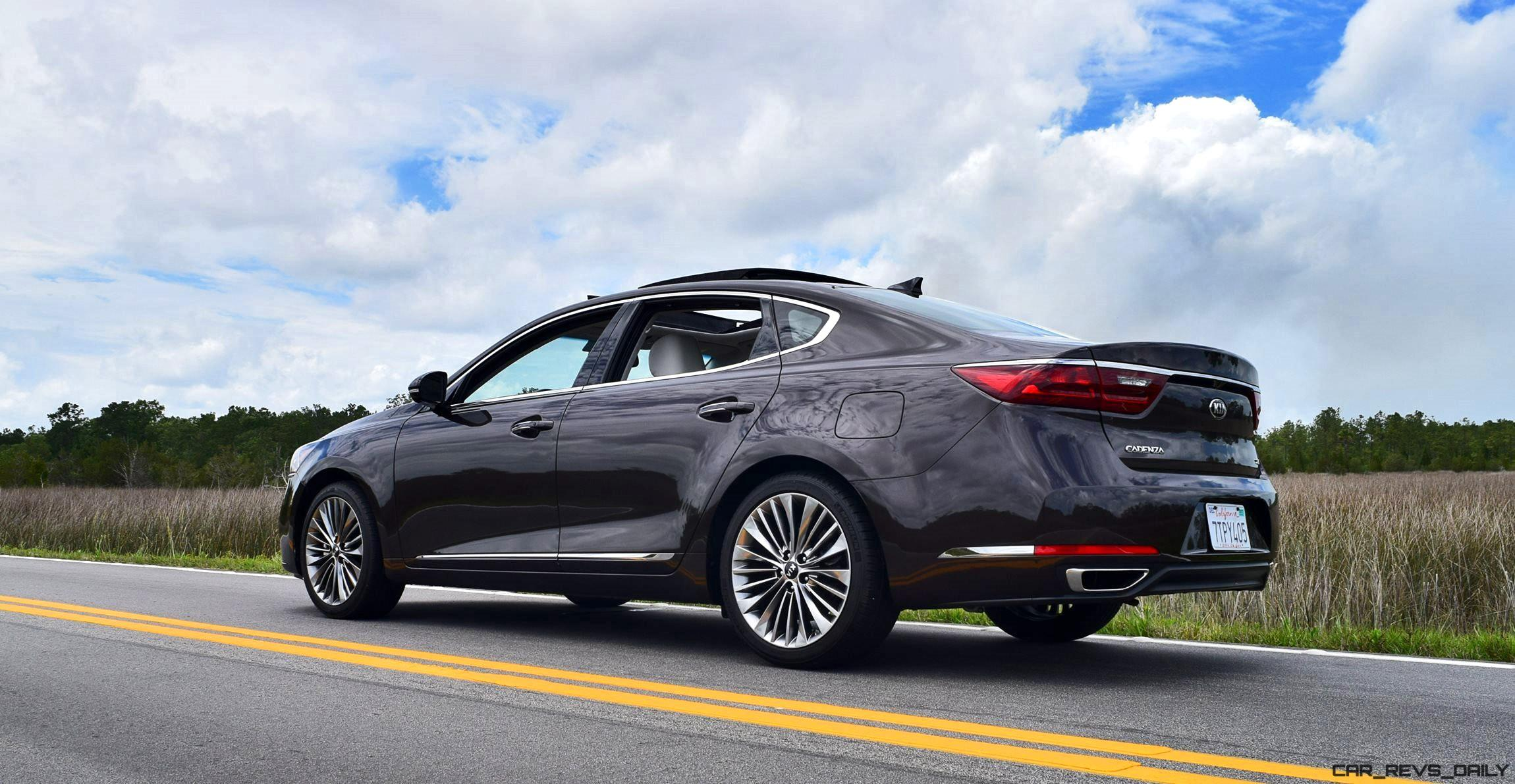 Perfect 2017 KIA Cadenza Limited  Road Test Review  2 Videos