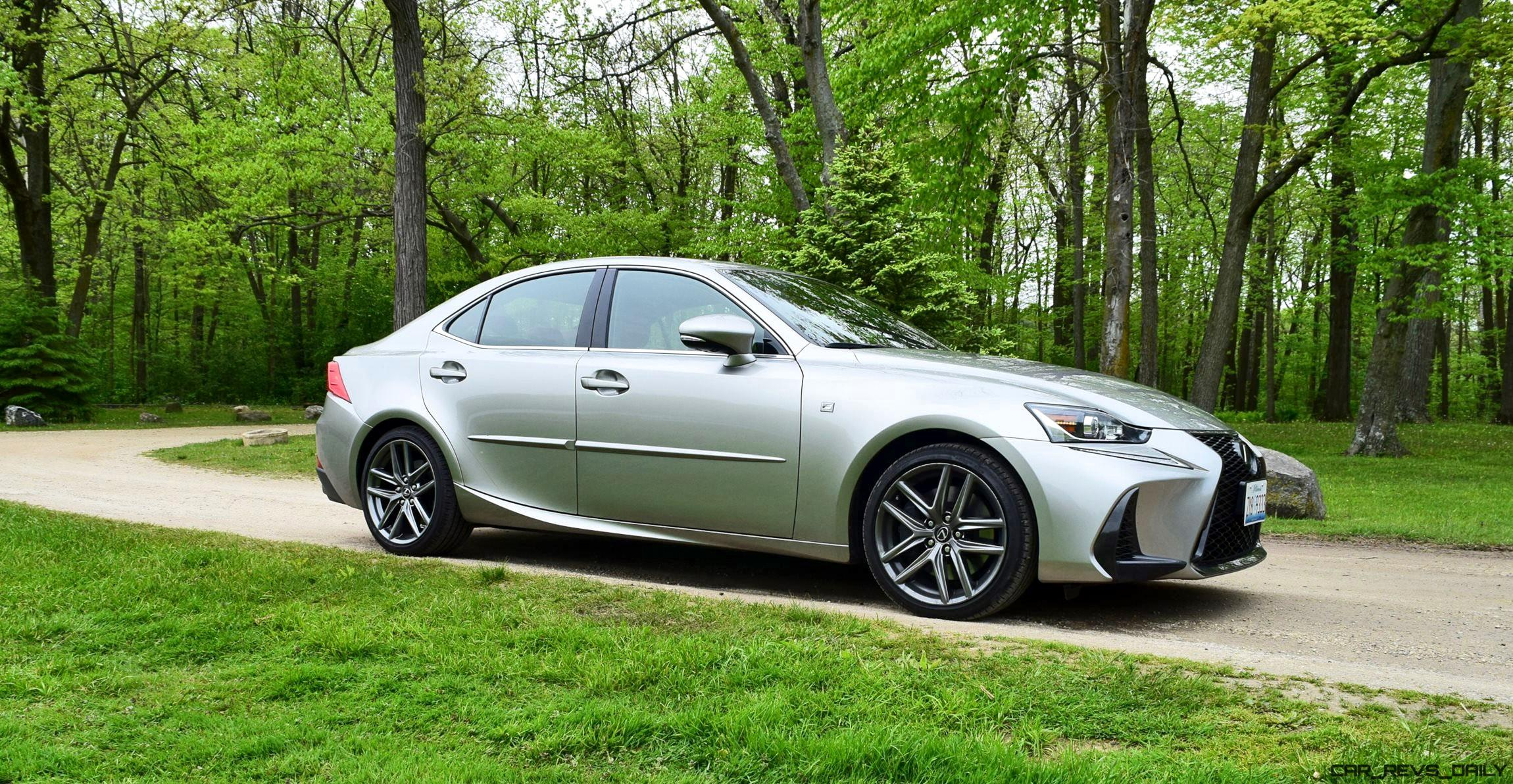2017 Lexus IS350 F Sport RWD Road Test Review