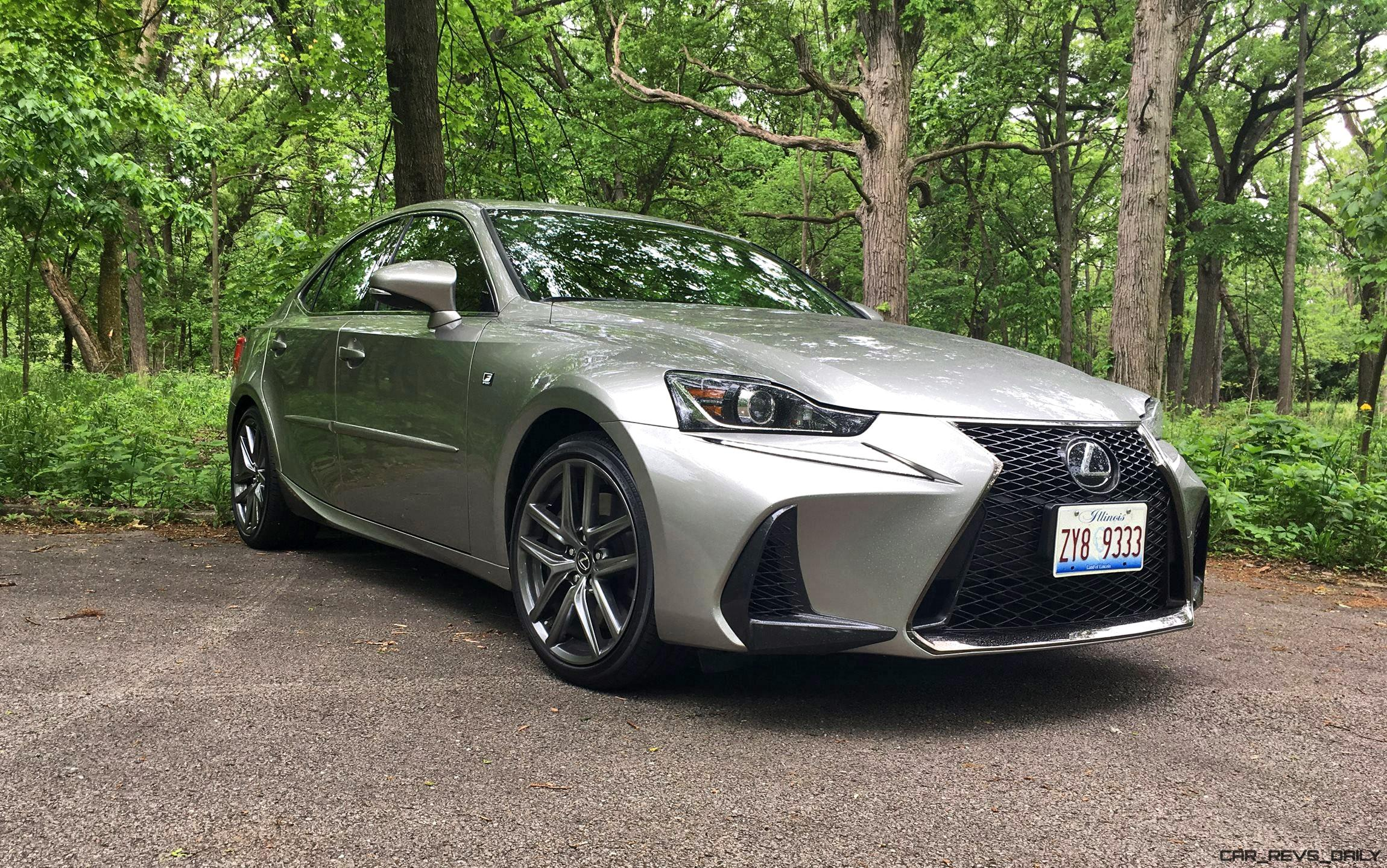 2017 lexus is350 f sport rwd road test review performance drive video. Black Bedroom Furniture Sets. Home Design Ideas
