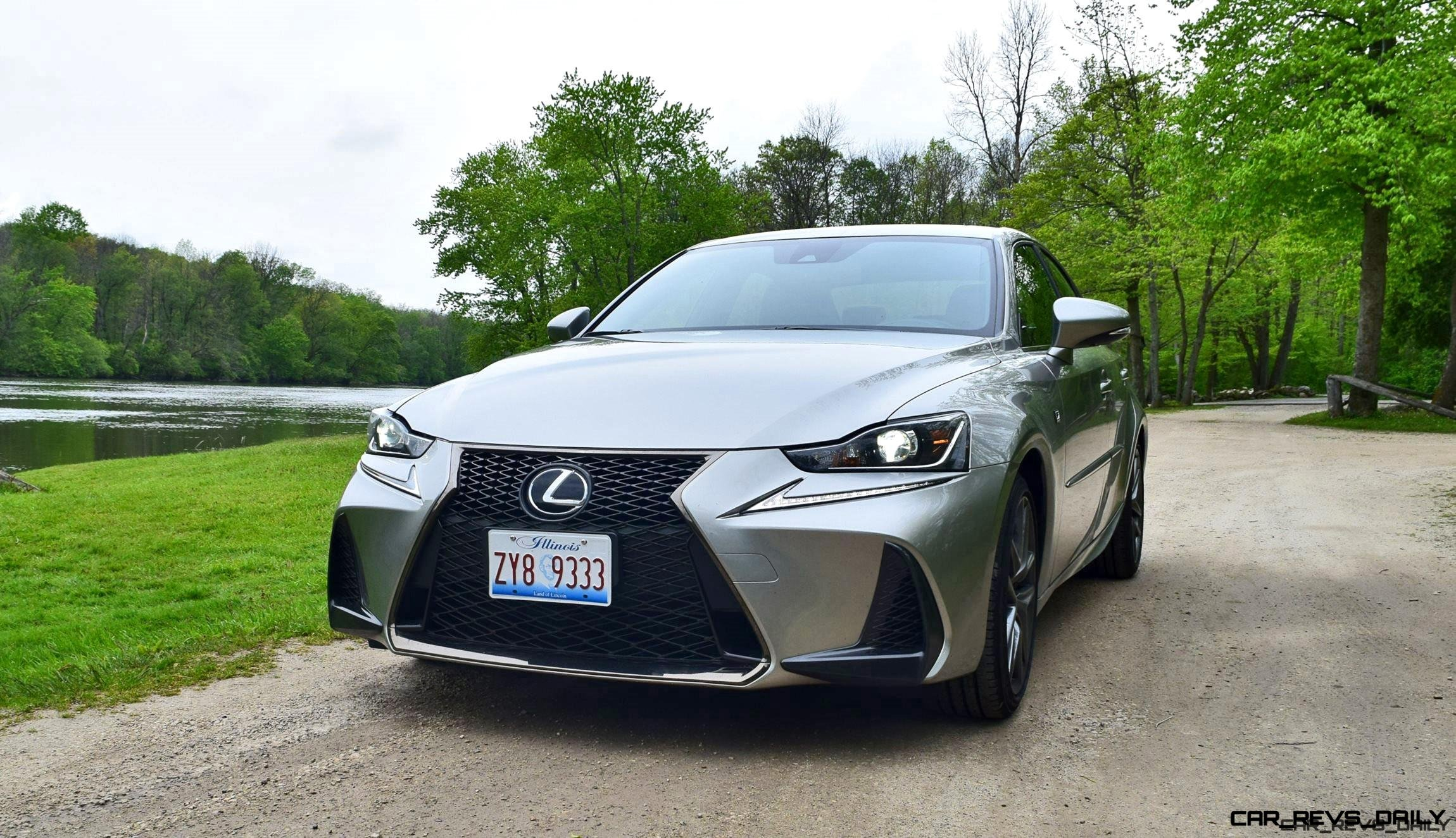 2017 Lexus Is350 F Sport Rwd Road Test Review Performance Drive Video