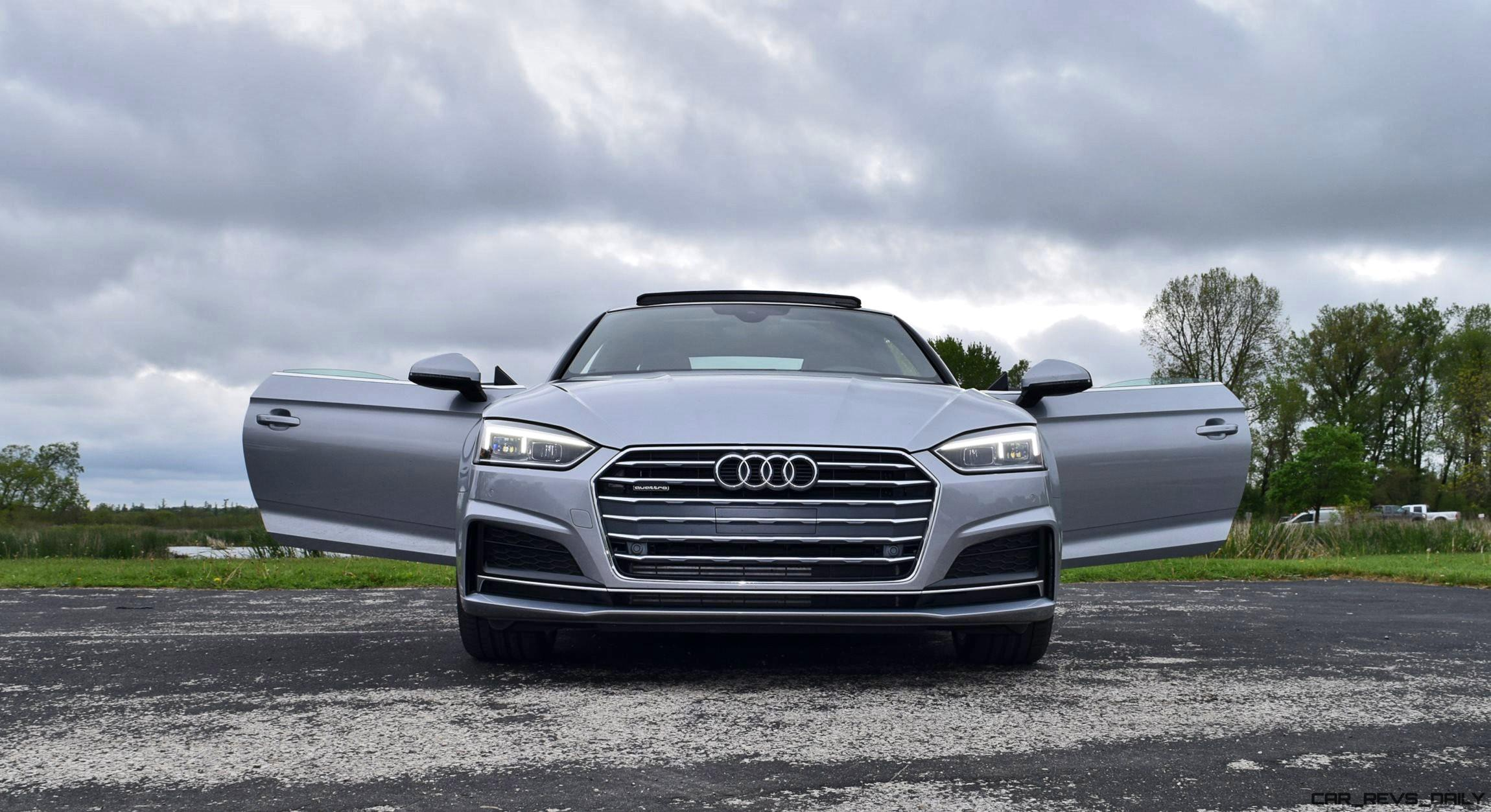 Audi A5 2.0 T >> First Drive - 2018 Audi A5 2.0T S-Line Quattro Coupe » CAR ...