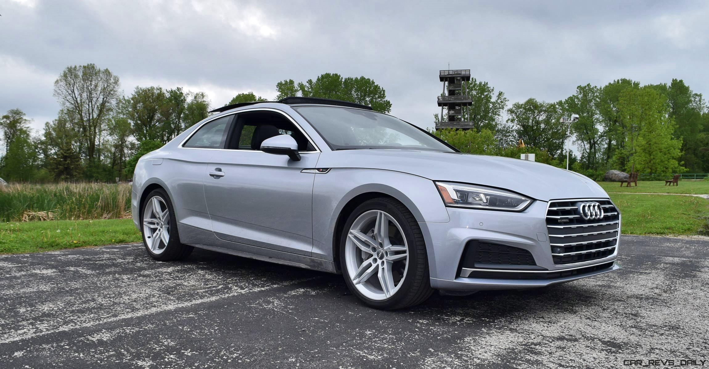 First Drive 2018 Audi A5 2 0t S Line Quattro Coupe