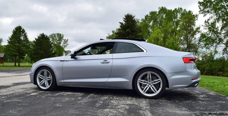 First Drive 2018 Audi A5 2 0t S Line Quattro Coupe 187 Car