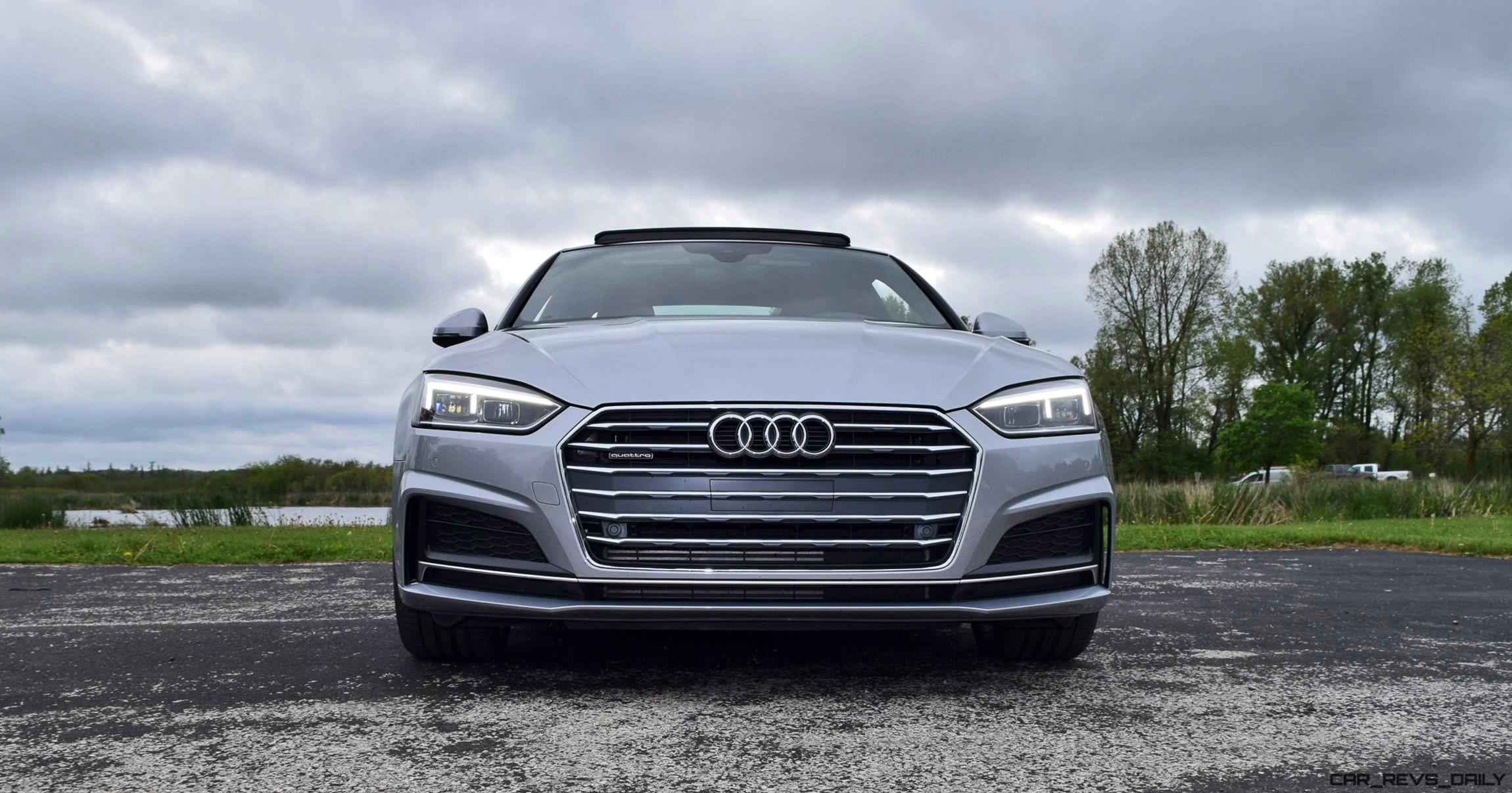 First Drive 2018 Audi A5 2 0t S Line Quattro Coupe 187 Car Shopping