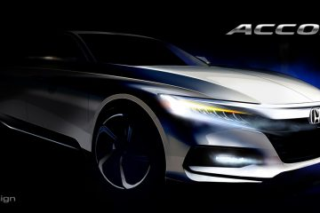 Honda Teases 2018 Accord, To Make Debut In Detroit