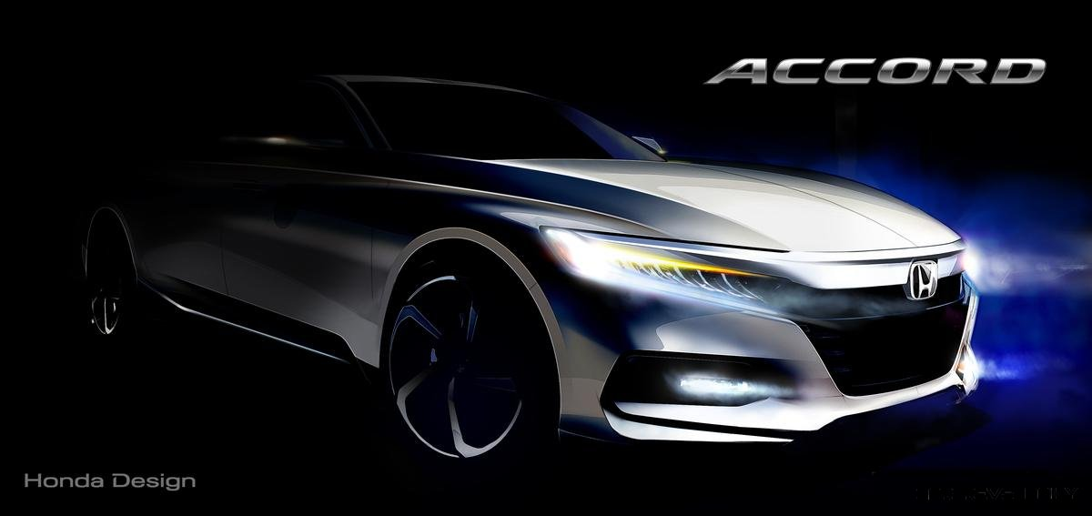 Honda Accord Rendering