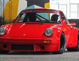 Porsche 911 RS 3.5 Red Evolution by DP-Motorsport