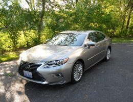 "2017 Lexus ES350 – Road Test Review – By Ken ""Hawkeye"" Glassman"