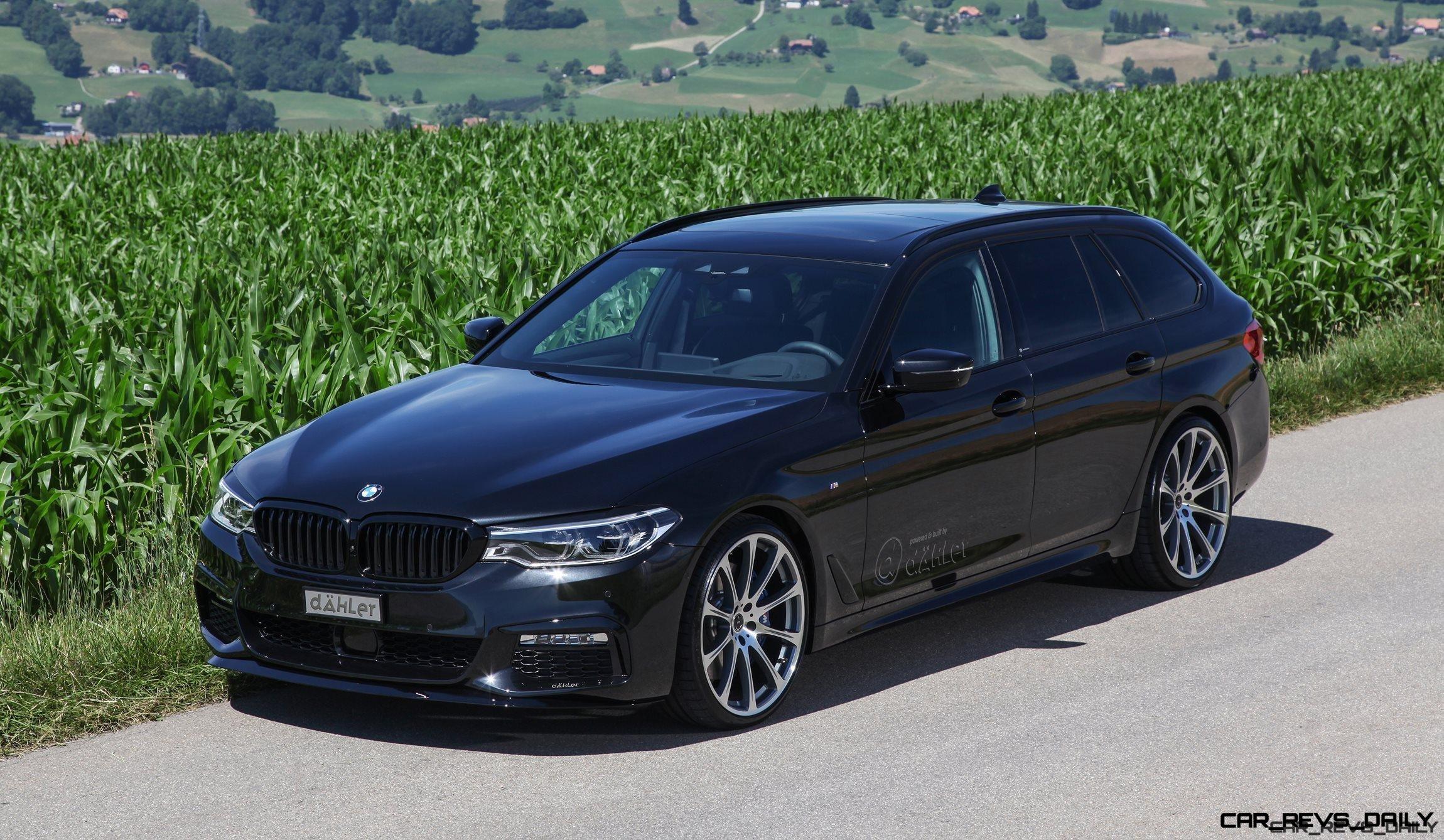 DAHLER Tunes Up New BMW 5-Series Touring - ECU, Remote