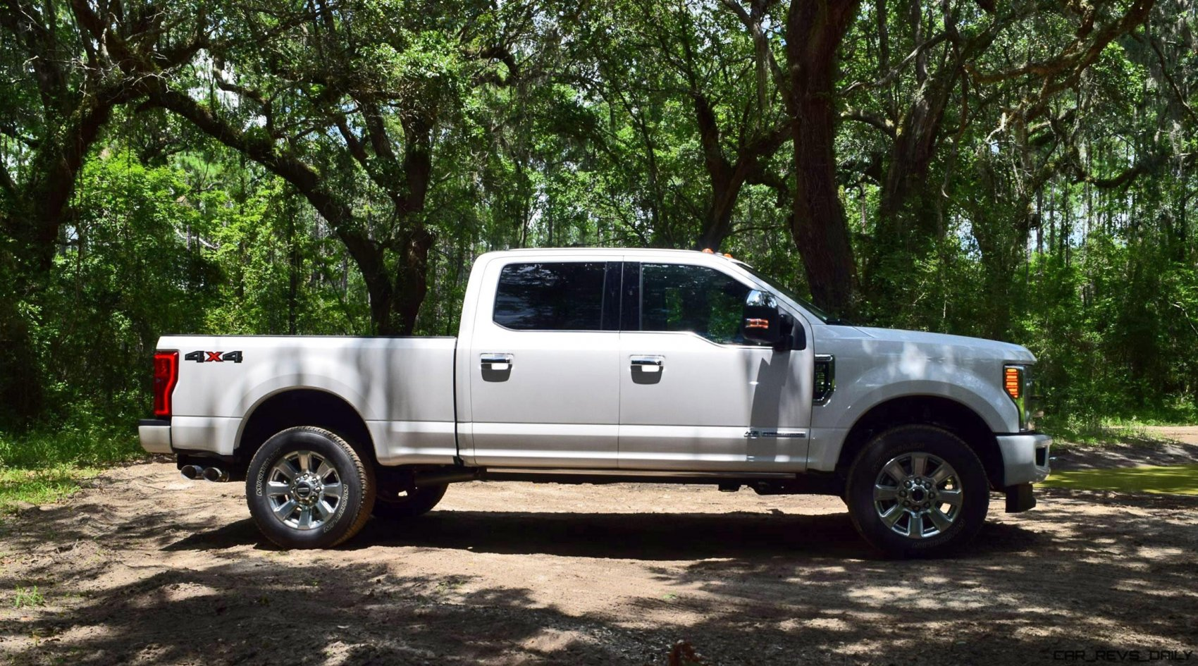 2017 Ford F 250 Super Duty Platinum White Exteriors 18