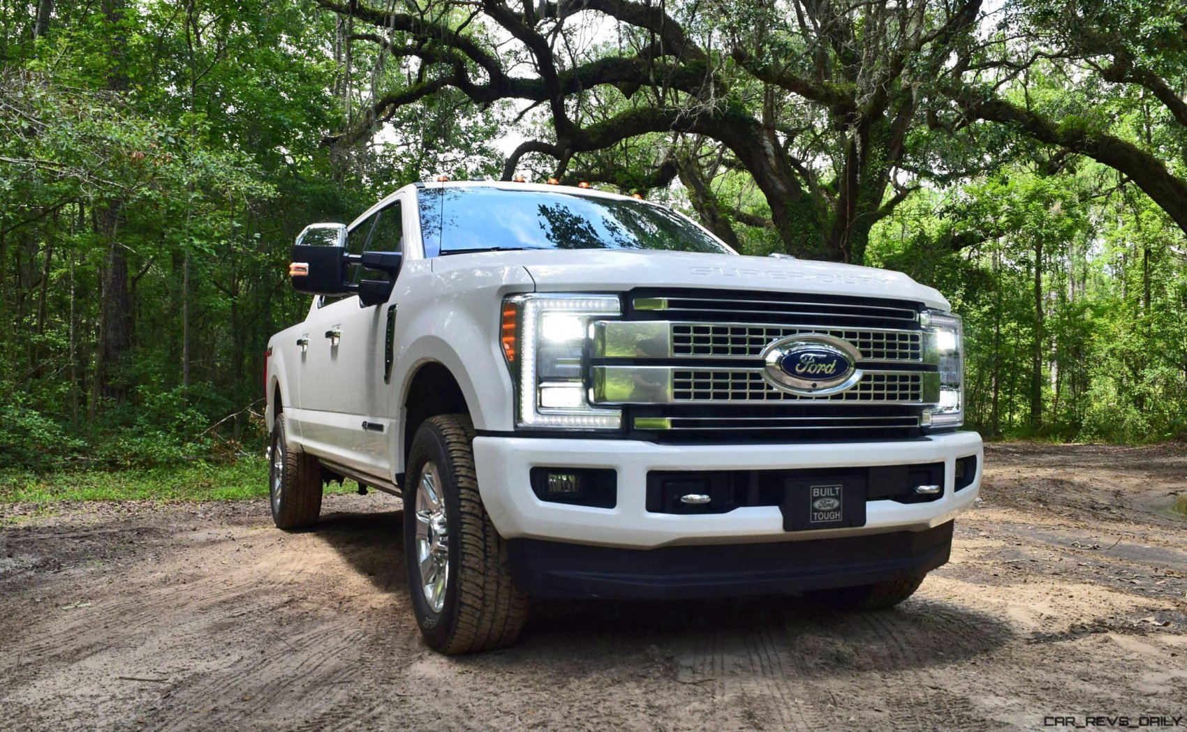 2017 ford f 250 super duty platinum white exteriors 24. Black Bedroom Furniture Sets. Home Design Ideas